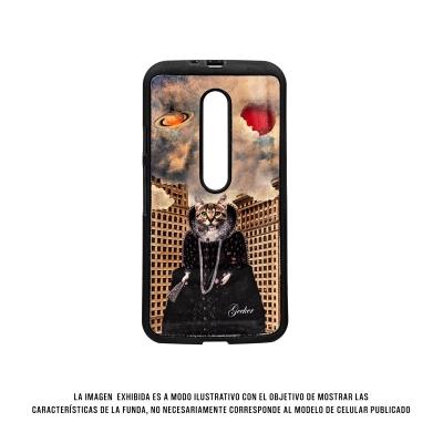 Geeker Hcd Moto G 3 Queen Cat Negro