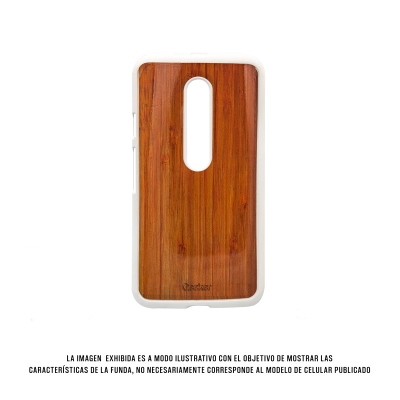 Geeker Hcd Moto G 3 Wood Blanco