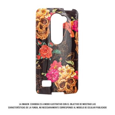 Geeker In Mold Iphone 6 Calavera Flores