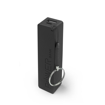 Geeker Power Bank Charger 2600 Ma Negro
