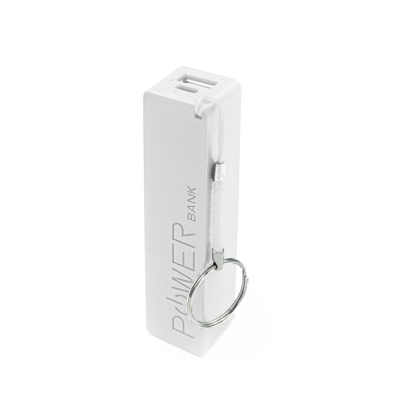 Geeker Power Bank Charger 2600 Ma Blanco