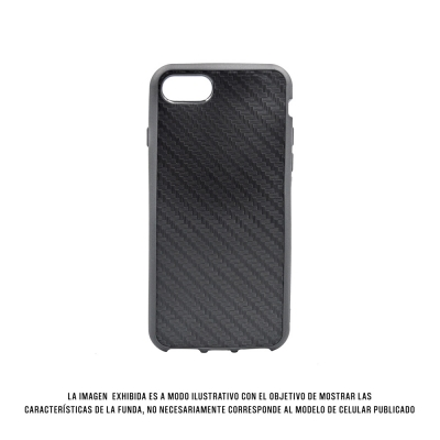 Geeker 3d Ihpone 7 Carbono Negro
