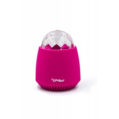 Geeker Disco Bluetooth Speaker Pink