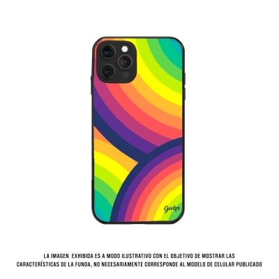 Geeker Top Case Fla J7 Prime Rainbow